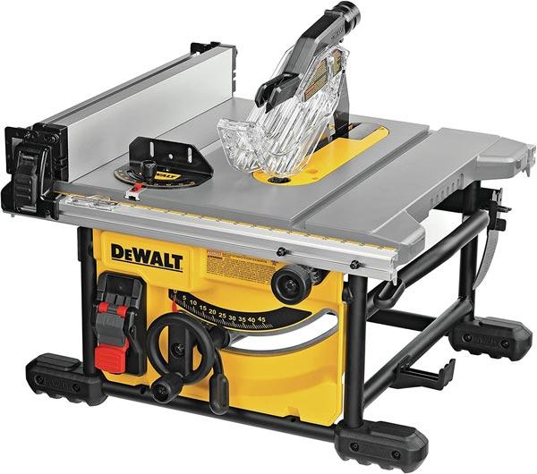 Dewalt Compact Tablesaw - must-have tools for a DIY van conversion - DIY van build - Sprinter Campervans