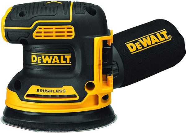 Dewalt Orbital Sander - must-have tools for a DIY van conversion - Sprinter Campervans