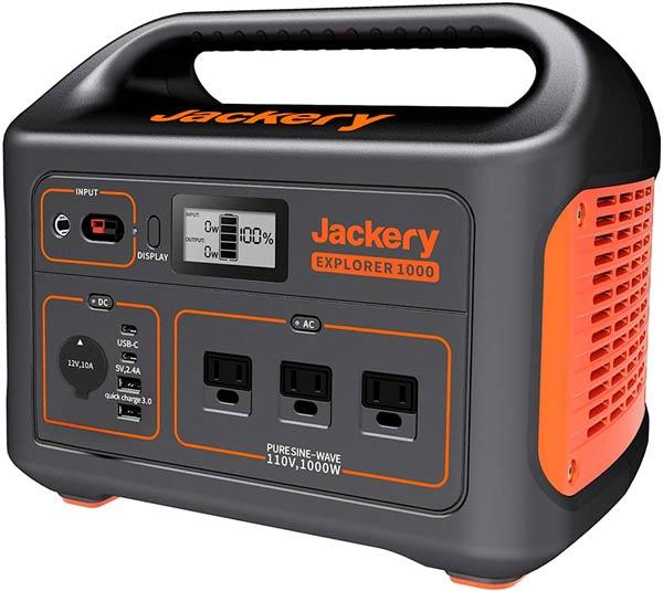 jackery - must-have tools for a DIY van conversion - DIY van build - Sprinter Campervans