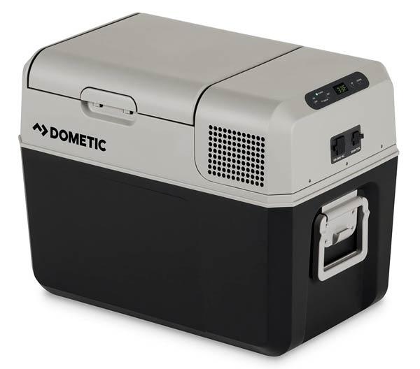 Dometic 12v portable refrigerator 10 van build essentials Sprinter Campervans